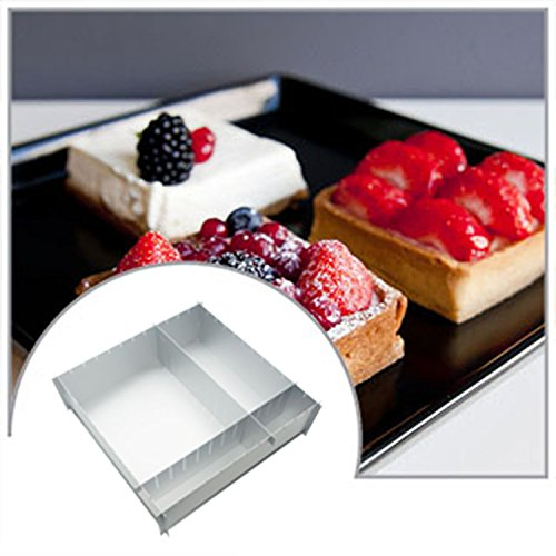 Yinyol 12 x 4'' Deep Multisize Cake Pan Could Make 4 Different Size Cake