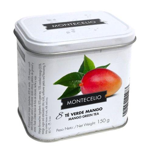 Montecelio - Té en Rama Té Verde Mango - 150 g: Amazon.es: Alimentación y bebidas