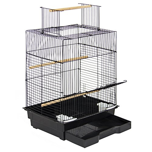 Best Choice Products Pet Supplies 24 Bird Cage W/ Open Play