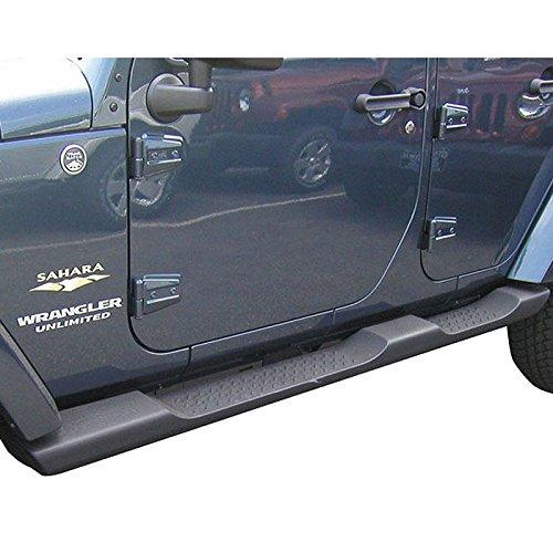 Jeep Wrangler 4 Door Running Board Side Steps (Step Factory Side)