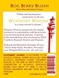 "Westport Winery ""Bog Berry Blush"" Gewürztraminer & Cranberry wine blend (Benefits the Pacific Coast Cranberry Research Foundation and Museum) 750 mL Wine"