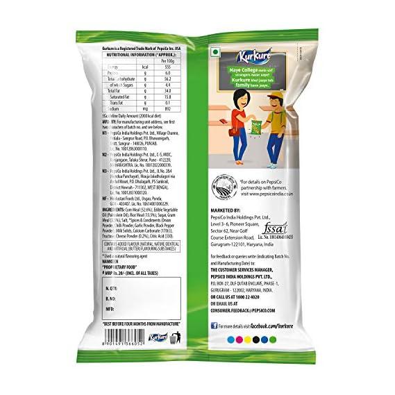 Kurkure Namkeen - Puffcorn (Yummy Cheese) - 55 g Pack