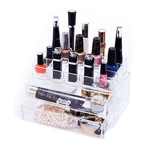 Choice Fun Makeup Organizer Cosmetic Accessories Storage
