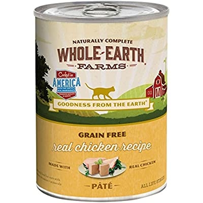 Merrick Whole Earth Farms Grain Free Wet Cat Food - Chicken - 12.7 Oz - 12 Pk