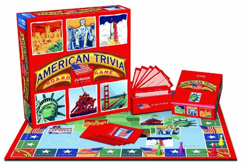 American Trivia: Junior (Trivia Game American)