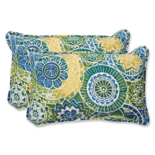 Pillow Perfect Outdoor Lagoon Rectangular