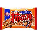 亀田製菓 亀田の柿の種 6袋 200g