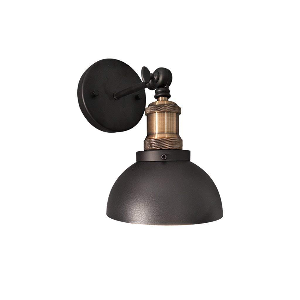 BXJ 錬鉄製のランプリビングルームのランプ寝室の照明クリエイティブ廊下通路ベッドサイドのランプウォールランプウォールランプ B07R9MTKP5