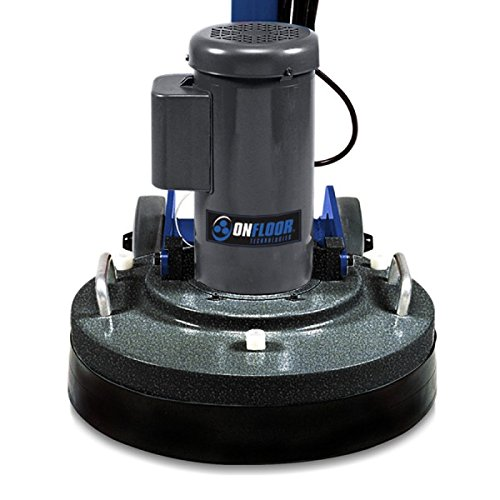 Onfloor 20 Inch Floor Grinder, Polisher, Sander Multi-Surface Floor Machine. Heavy-Duty 2 HP, 120V Motor and 500 RPM Tool Speed. Made In the USA by ONFLOOR
