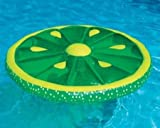 Best Swimline Pool Floats - Swimline 60-Inch Inflatable Heavy-Duty Swimming Pool Lime Slice Review