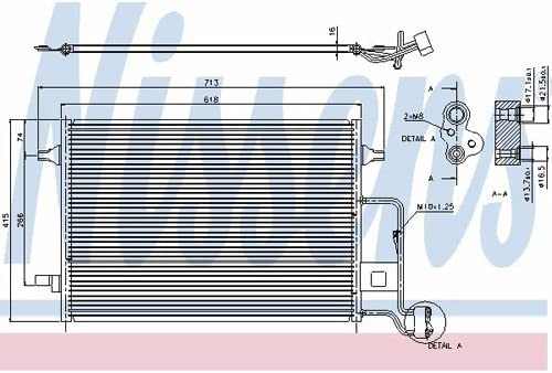 Nissens 94592 Klimakondensator