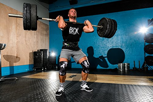 Bear KompleX Knee Sleeves (SOLD AS A PAIR of 2) Cross fitness, Weightlifting, Powerlifting, Squats, and more. Neoprene training sleeves come in 5mm and 7mm ...