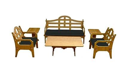 Amazon.com: Wedgewood Juego de Palladian salón Mueble con 1 ...