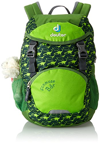Deuter Schmusebar Kid's Backpack, Emerald by Deuter