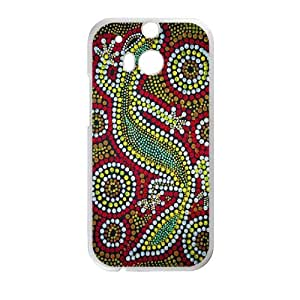 Clzpg Personalized HTC One M8 Case - Dot cover case