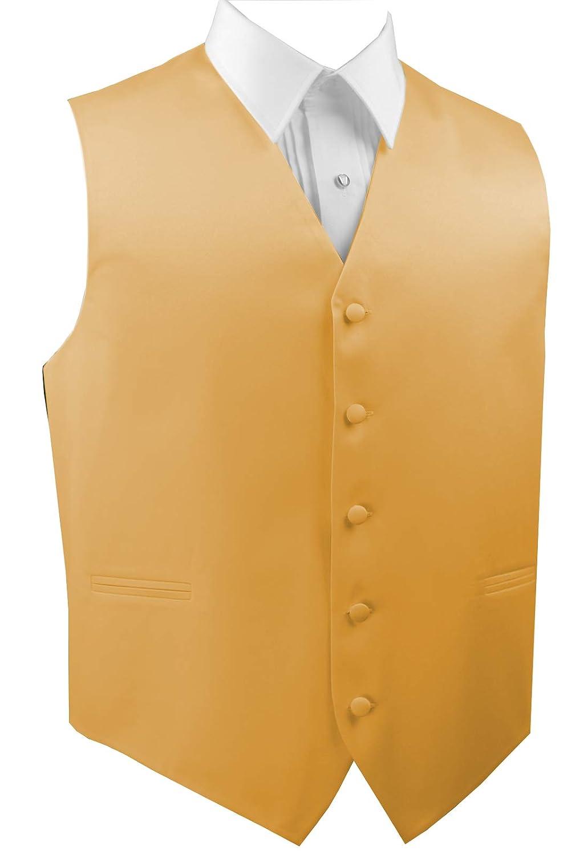 Wedding Tuxedo Vest in Golden Prom Brand Q Mens Formal