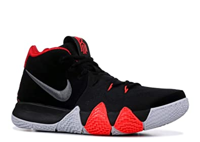 online retailer 89d4d f9aba Image Unavailable. Image not available for. Color: Nike Kyrie 4 Black/Dark  Grey