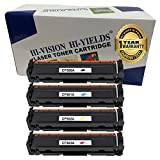 HI-VISION Compatible CF500A CF501A CF502A CF503A toner cartridge HP202A Toner Standard Yield Black1,400 Color1,300 pages Toner for HP Color LaserJet Pro M254dw M254nw MFP M280nw M281fdn M281fdw(4Pk)