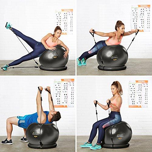 Bruciare Pilates Chair Buy Online In Uae: 65cm & 75cm Yoga Fitness Pilates