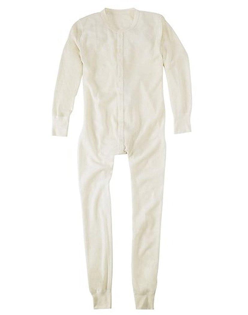 Hanes Men's Thermal Union Suit # 22806, S, Natural Hanesbrands Inc 00-VVWO2M-FR