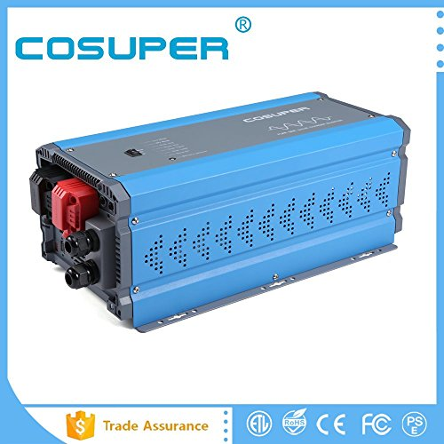 Pure Sine Wave Power Inverter Dc 12v to Ac 120v (2000W) by cosuper
