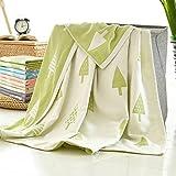 LU-Blankets Cotton Yarn Cloth Single Double Children Nap Blanket Towel Blanket ( Size : Queen-150200cm )