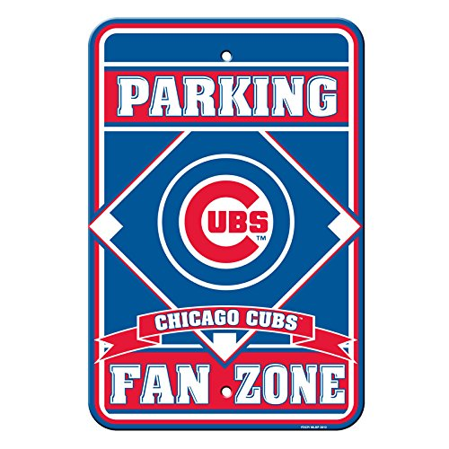 - Fremont Die Official Major League Baseball Shop Authentic MLB Parking Sign - Man Cave and Bar (Chicago Cubs)