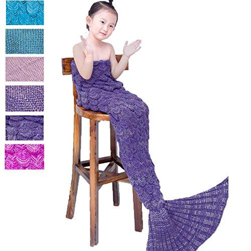 Awkli Fish Scale Sleeping Christmas Kids Purple product image