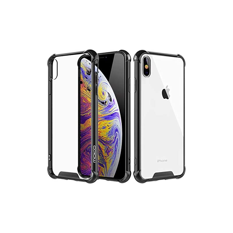 MoKo Compatible iPhone Xs Max Case, Crys
