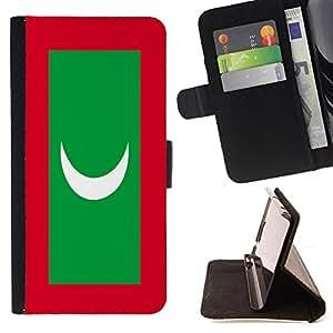 - Flag - - Premium PU Leather Wallet Case with Card Slots, Cash Compartment and Detachable Wrist Strap FOR HTC Desire 820 D820 d820t King case