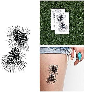 Tatuaje Temporal Tattify - Piña - Más allá de los pinos (juego de ...