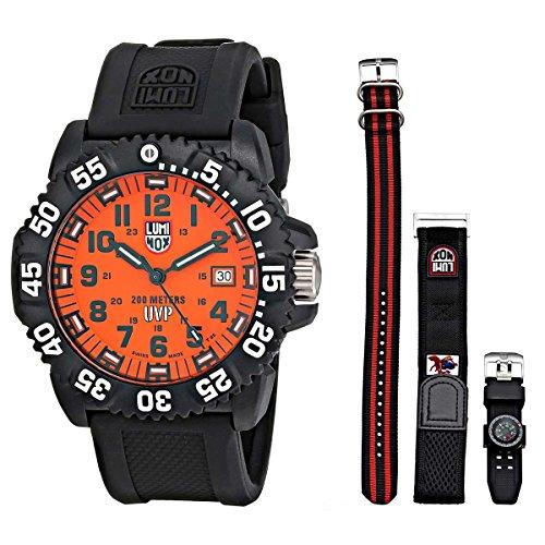 Price comparison product image Luminox Men's 3059.SET Scott Cassell Specials Analog Display Analog Quartz Black Watch