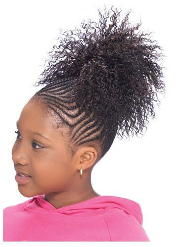 CHLOE (2 Dark Brown) - Model Model Glance KID'S Synthetic Hair Drawstring Ponytail (Chloe Model)