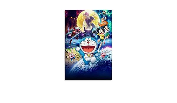 P/óster de lienzo y pared 20 x 30 cm GJWL Doraemon