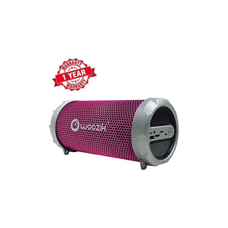 Woozik S213 Boombox LED Portable Bluetoo
