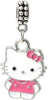 Hello Kitty Pink dress /& Purse Shopping Bag  shoe bag sale charm necklace