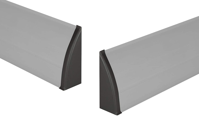 cappuccio estremit/à sinistra per pvc BATTISCOPA Condotto per cavo 8640 Moderno piedistallo listelli