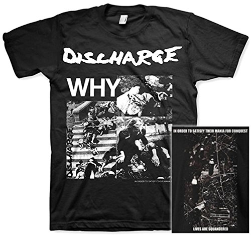 DISCHARGE Band Album Cover T Shirt