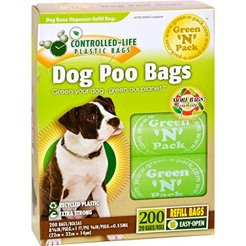 Eco Friendly Bags Dog Poo Bags 200 Ct