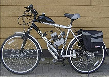 Kungfu Mall 80 cc 2-Stroke Cycle Motorized Bike Negro Body Engine Motor Kit: Amazon.es: Coche y moto