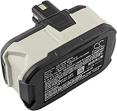 2×18V 3000mAh Drill Battery For Ryobi ABP1801 BIW180 ABP1803 BPP-1813 BPP-1815