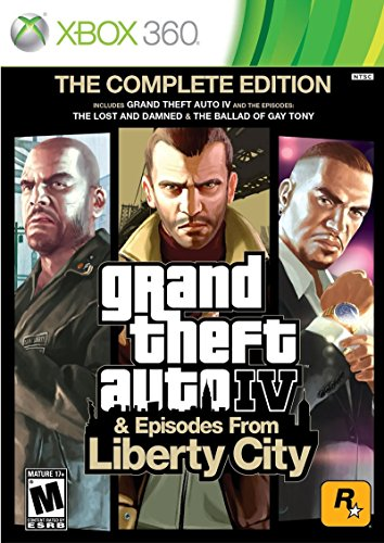 Price comparison product image Grand Theft Auto IV & Episodes from Liberty City: The Complete Edition