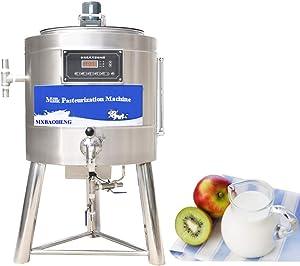 MXBAOHENG 50L Pasteurization Machine Commercial Pasteurizer for Milk Juice Beer Sterilization Disinfection 220V