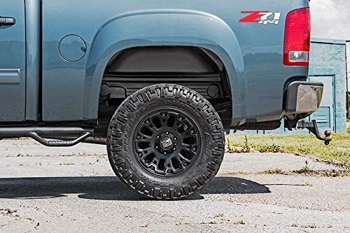 Rough Country - 4207 - Rear Wheel Well Liners (Pair) for Chevrolet: 07-13 Silverado 1500 4WD/2WD, 07-10 Silverado 2500 HD 4WD/2WD, 07-10 Silverado 3500 HD 4WD/2WD