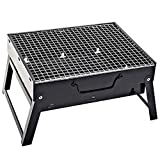 Maogolan Barbecue Charcoal Grill Folding Portable Grills Lightweight Small BBQ Grills for Outdoor Picnics Camping Garden  Cooking