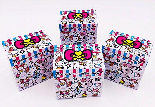 Tokidoki Set of 4 Blind Boxes X Hello Kitty Series 2 Vinyl Mini Figures