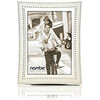 Nambe Beaded Frame, 5 by 7-Inch