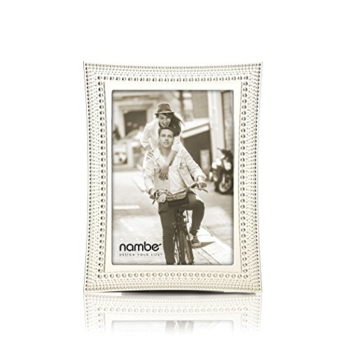 (Nambe Beaded Picture Frame, 5