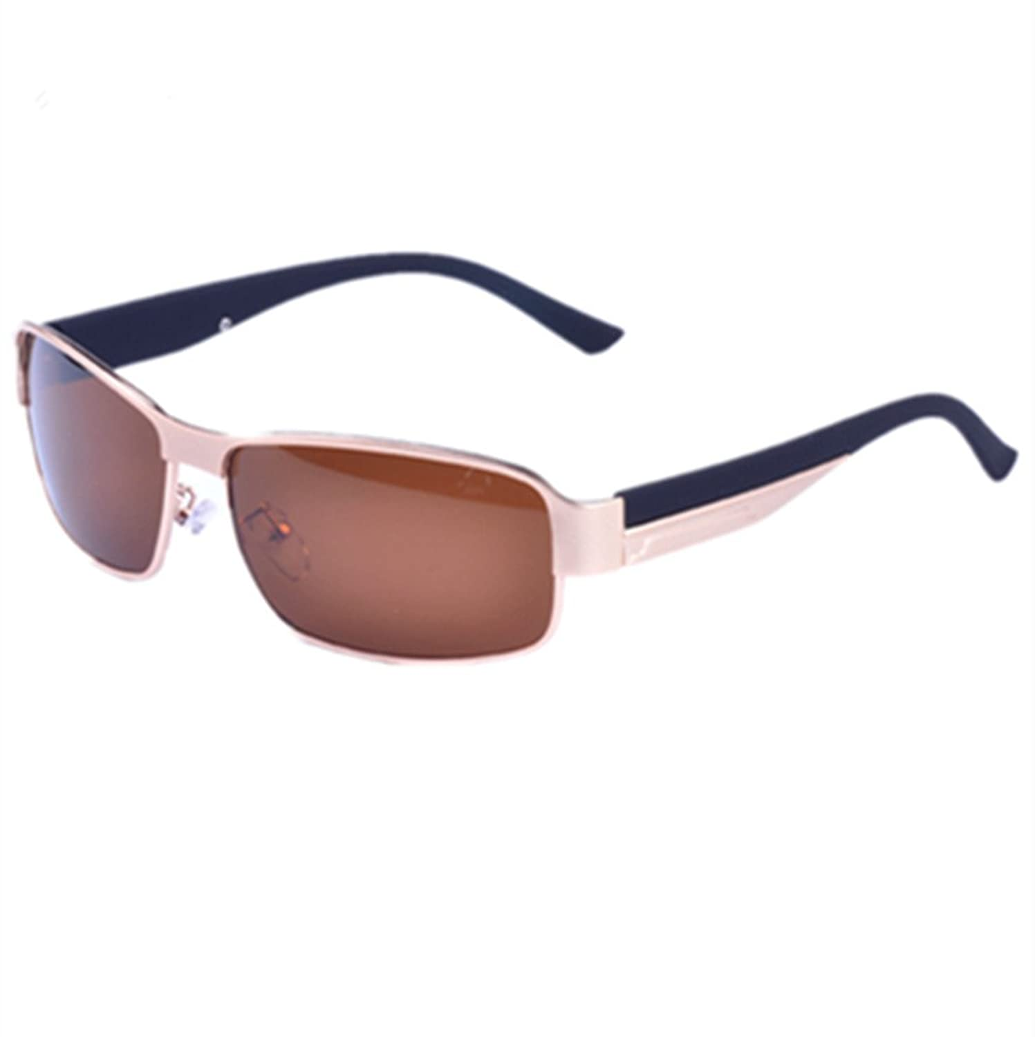 c87d61298452 durable service YINHAN Men s Driving Polarized Sunglasses with Metal Frame