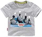 CHANI Boys Girls'Thomas Train and Friends Characters Short Sleeve t Shirt Toddler Cartoon